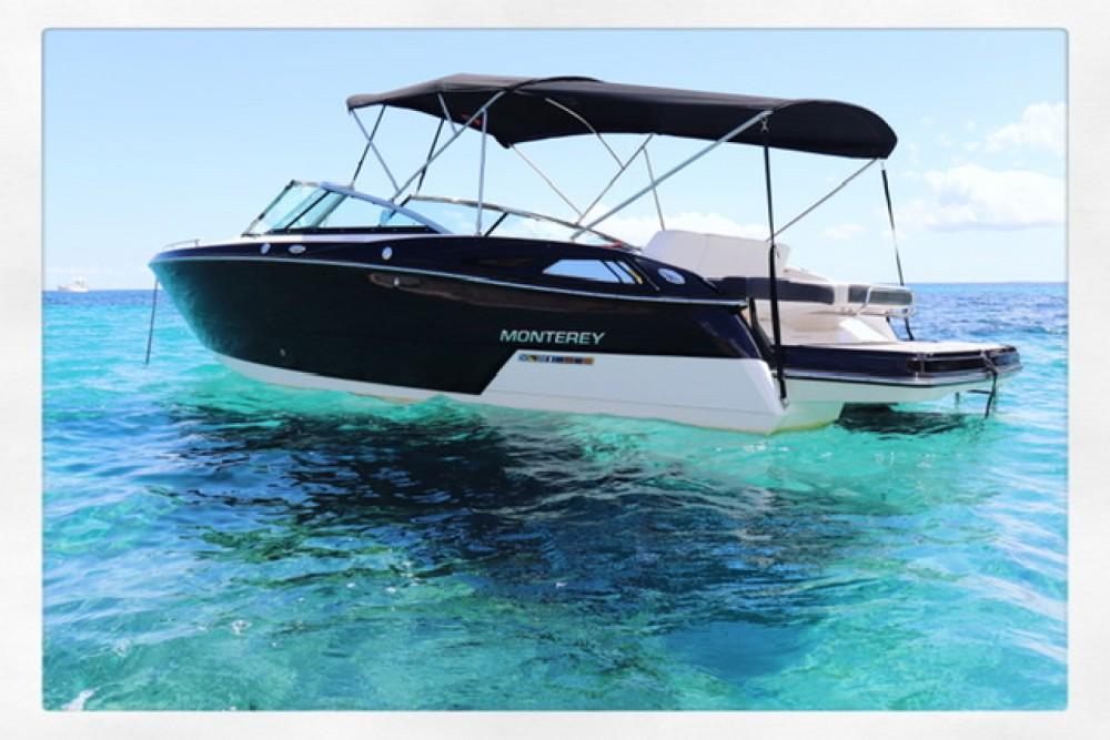 Rent a Monterey 268 ss Balearic Islands