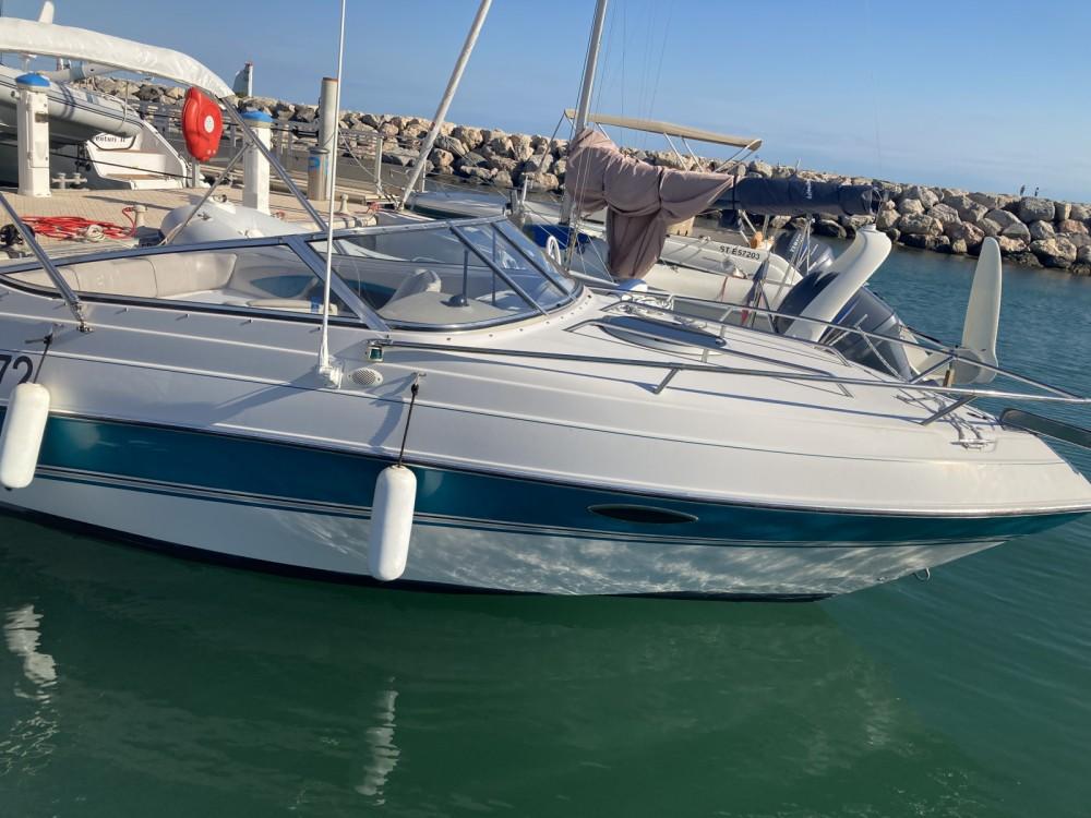 Boat rental Four Winns Sundowner 225 in La Grande-Motte on Samboat