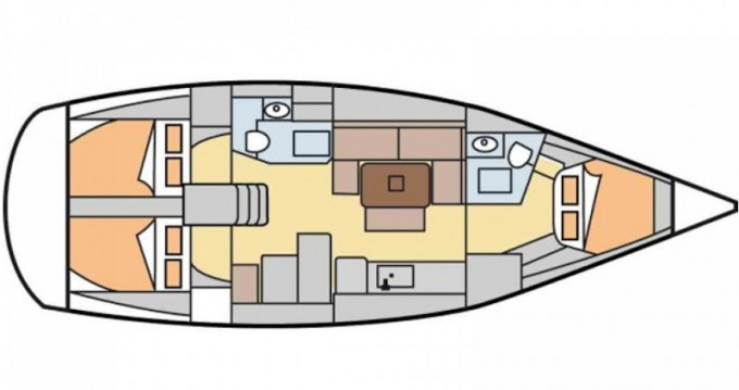 Rental Sailboat in Vigo - Dufour Dufour 405 Grand Large