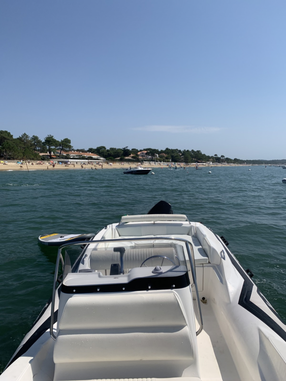 Hire Motorboat with or without skipper Zar Formenti Arcachon