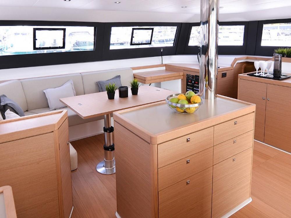 Boat rental Cagliari cheap Dufour Catamaran 48