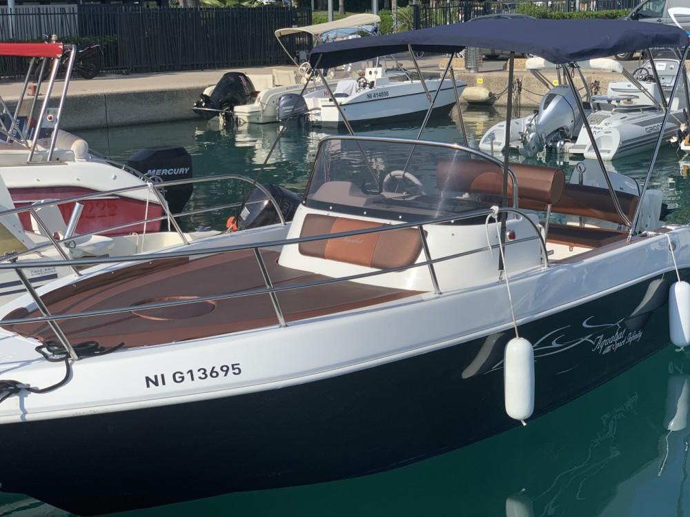 Hire Motorboat with or without skipper Aquabat Saint-Laurent-du-Var