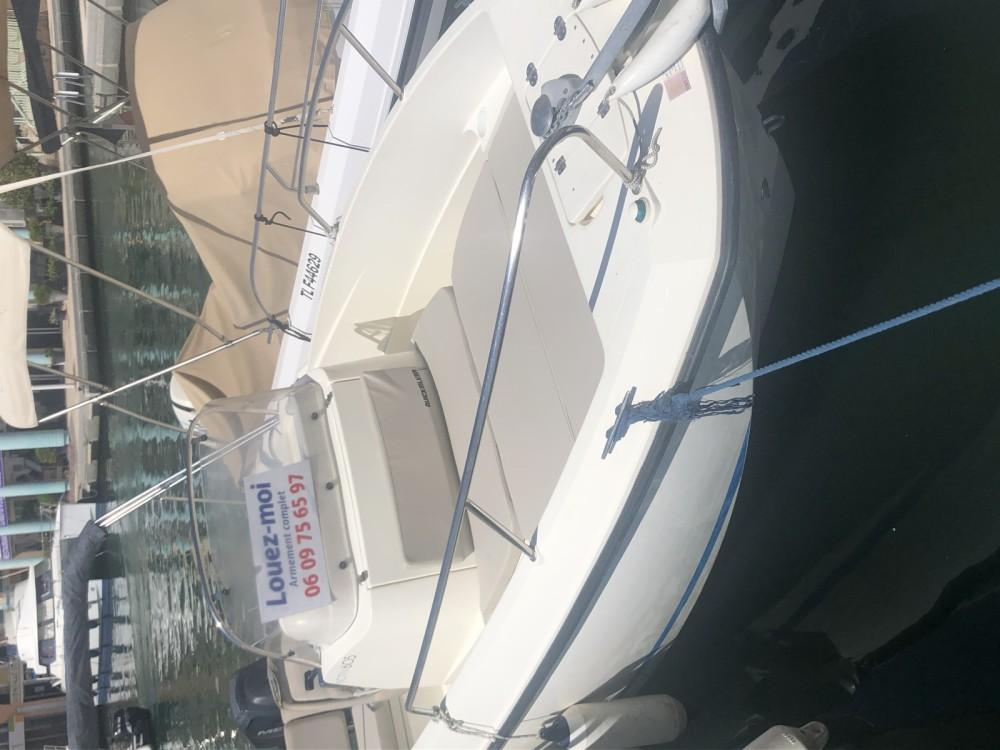 Boat rental Saint-Raphaël cheap Open 595