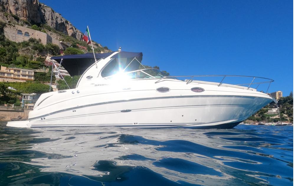 Rent a Sea Ray Sundancer 315 Beaulieu-sur-Mer