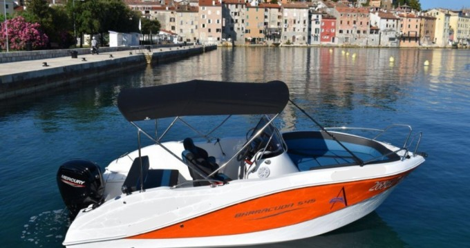 Okiboats Barracuda 545 Open between personal and professional Rovinj