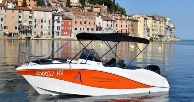 Rental yacht Rovinj - Okiboats Barracuda 545 Open on SamBoat