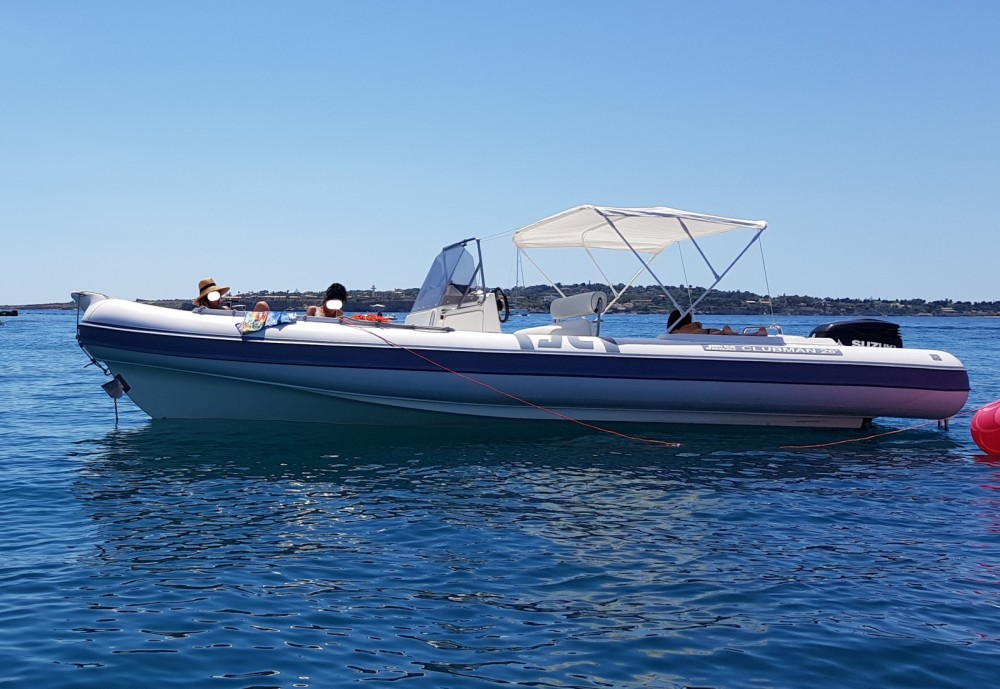 Hire RIB with or without skipper Joker Boat Siracusa