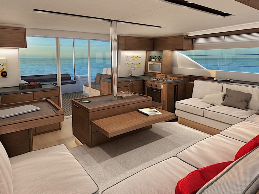 Rental Catamaran in Olbia - Lagoon Lagoon 50 - owner version