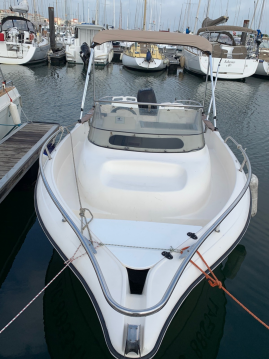 Rental Motorboat in Arcachon - Ocqueteau Olympic 565