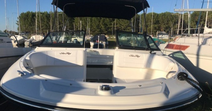 Hire Motorboat with or without skipper Sea Ray Biscarrosse