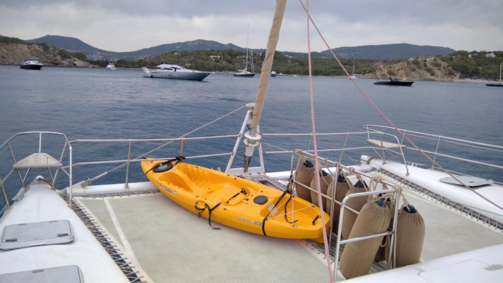 Boat rental Balearic Islands cheap Fountaine Pajot Marquise 56