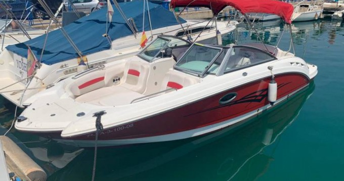 Hire Motorboat with or without skipper Chaparral Annecy
