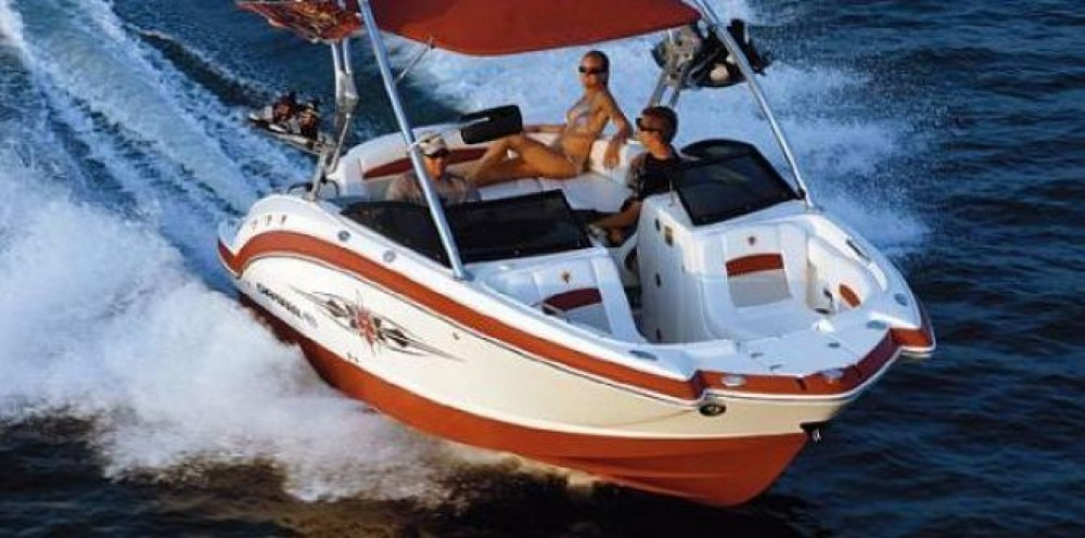 Rental yacht Annecy - Chaparral Sunesta 244 on SamBoat