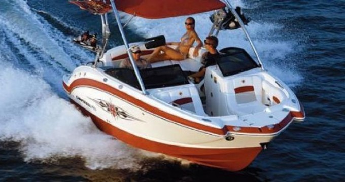 Boat rental Chaparral Sunesta 244 in Annecy on Samboat