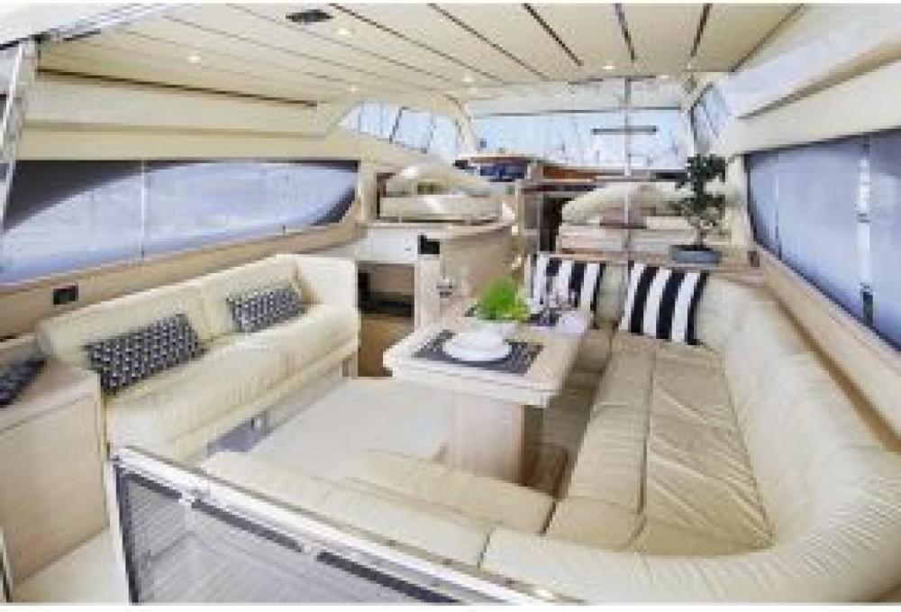 Boat rental Ferretti 53 fly Birdge in Tourlos on Samboat