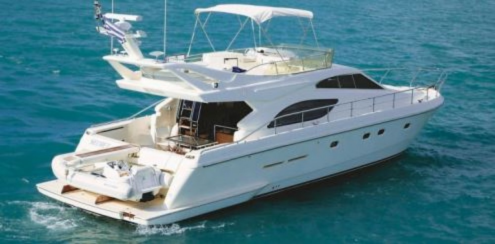 Hire Motorboat with or without skipper Ferretti Tourlos