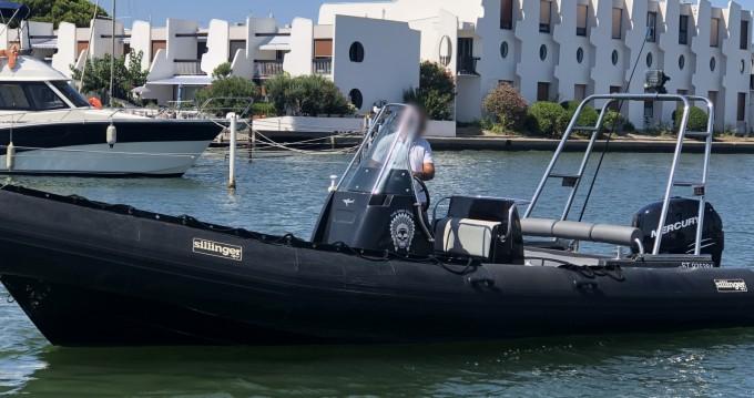 Boat rental Le Grau-du-Roi cheap 765 silverline
