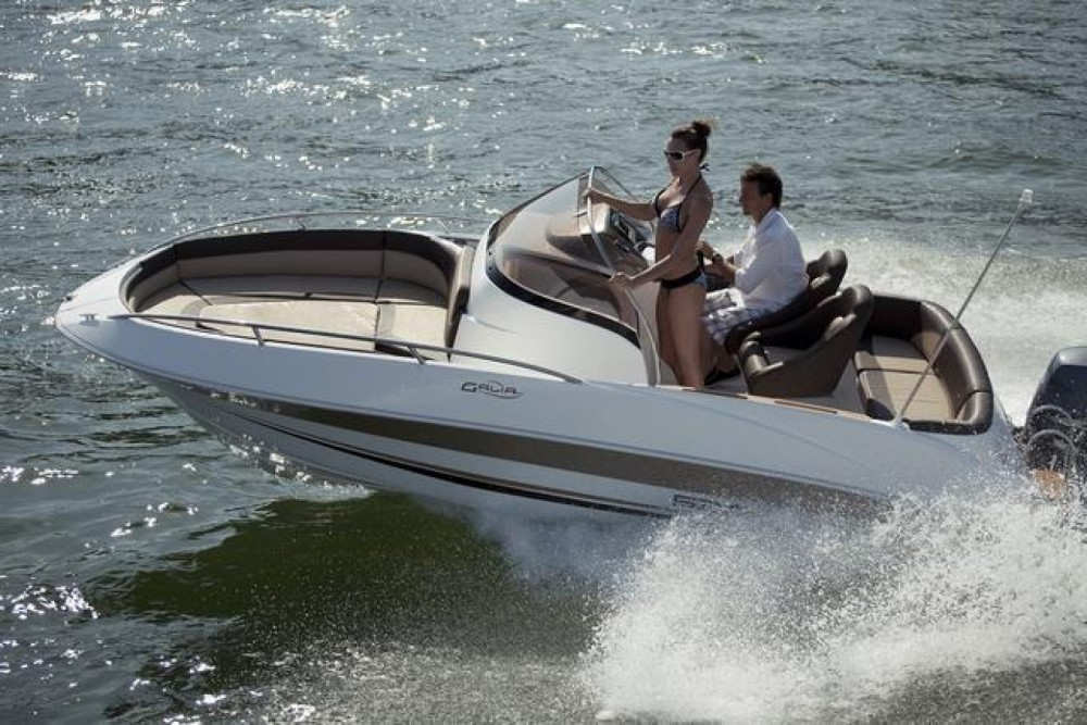 Hire Motorboat with or without skipper Galia Lignano Sabbiadoro