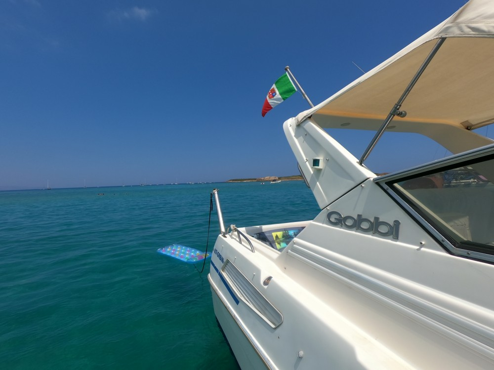 Rental Motorboat in Marzamemi - Gobbi Cabin 27