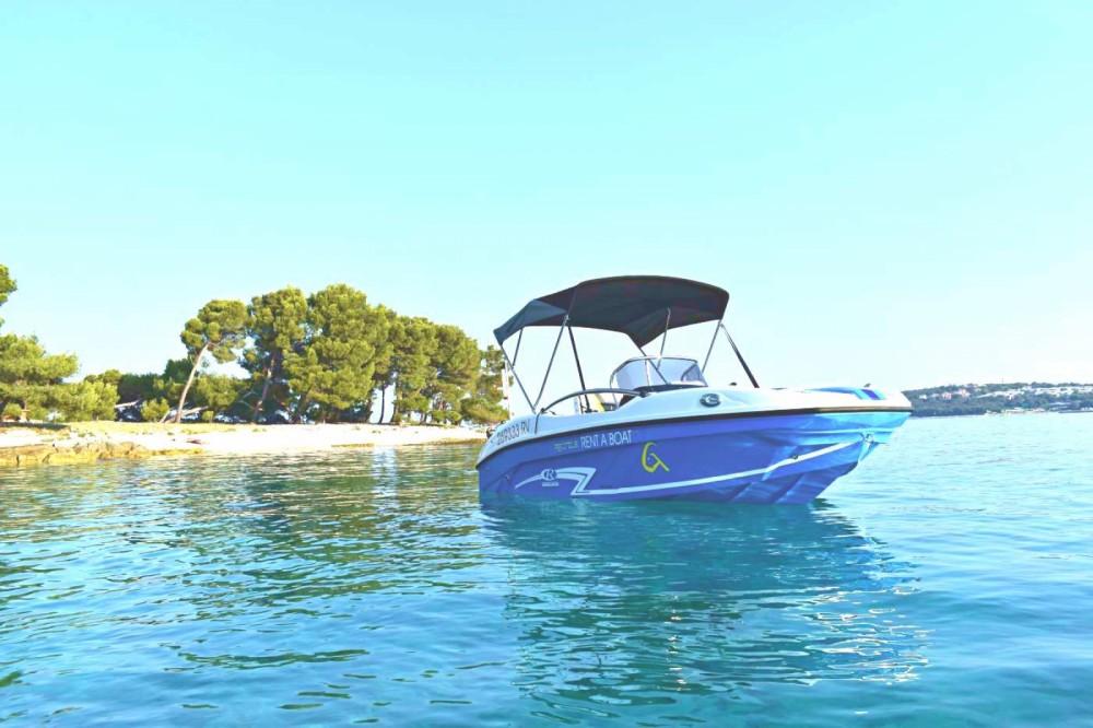Rental Motorboat in Rovinj - Rancraft RS Cinque