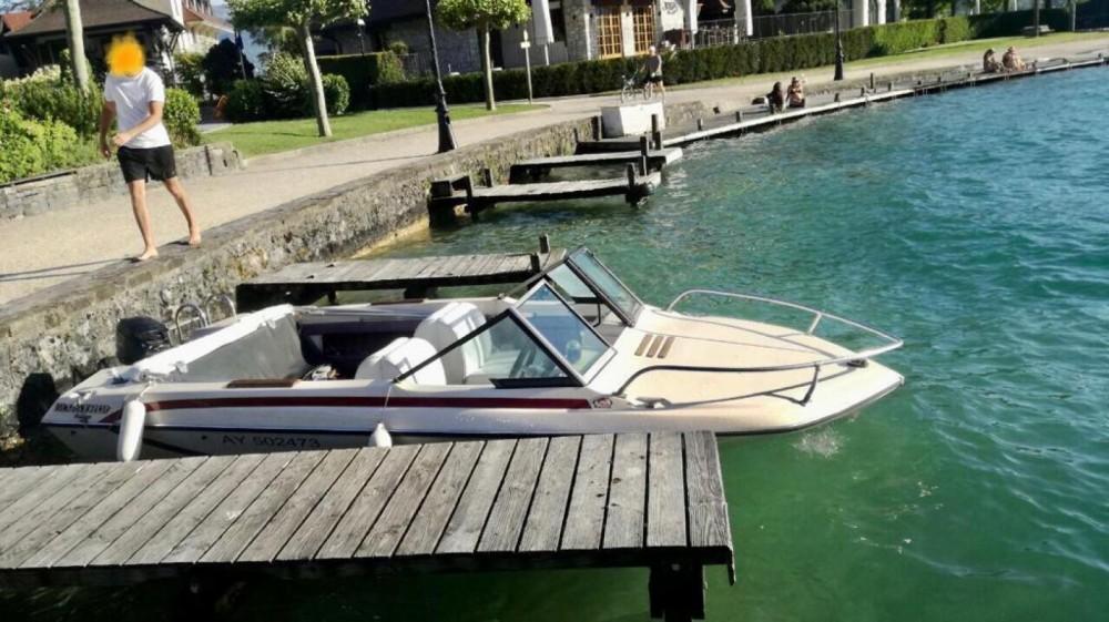 Boat rental Glastron V162 in Annecy on Samboat