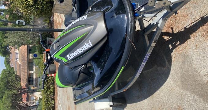 Rental Jet Ski in Sainte-Maxime - Kawasaki STX15F