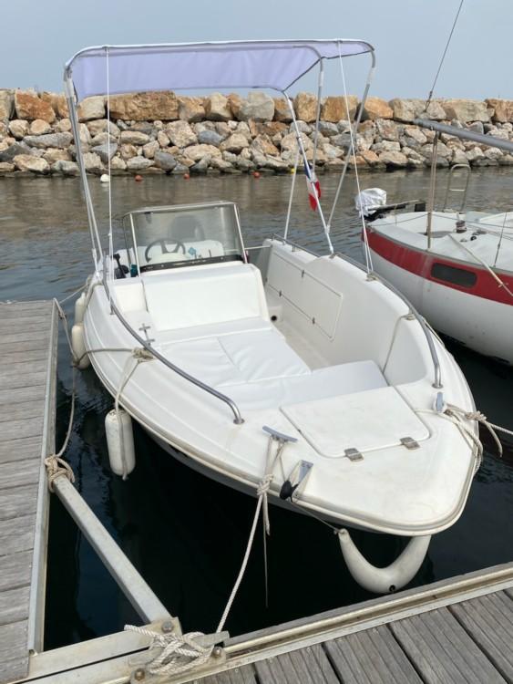 Boat rental Quicksilver Quicksilver 500 in Argelès-sur-Mer on Samboat