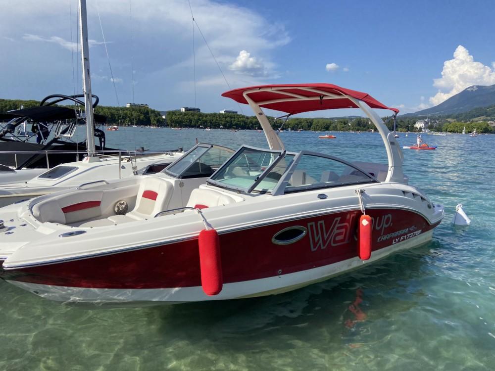 Rental Motorboat in Annecy - Chaparral Sunesta 244