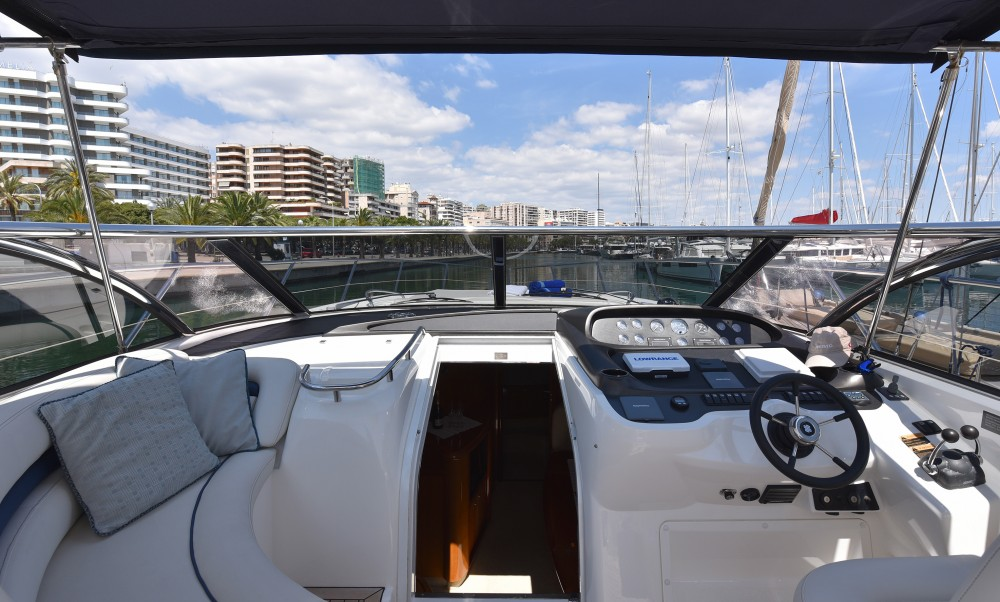Sunseeker Camargue 50 between personal and professional Palma