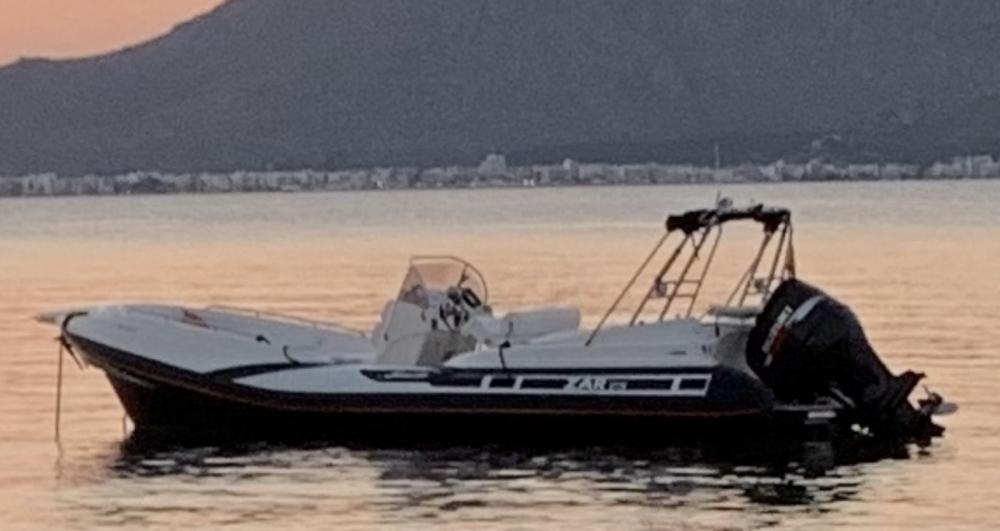 Boat rental Alcúdia cheap Zar 75