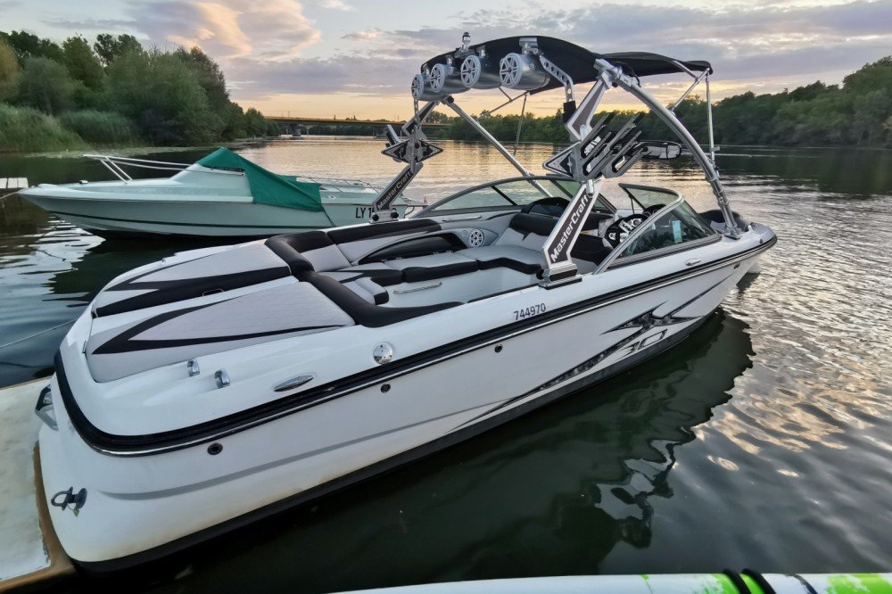 Hire Motorboat with or without skipper Mastercraft Lyon
