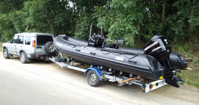 Hire RIB with or without skipper Bombard Nieuwpoort