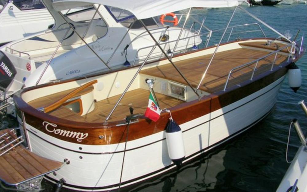 Boat rental Otranto cheap Latino 6.80