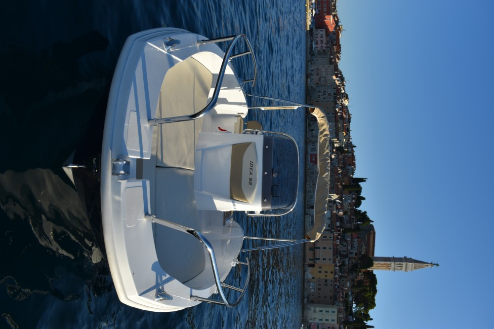 Rental Motorboat Idea Marine with a permit