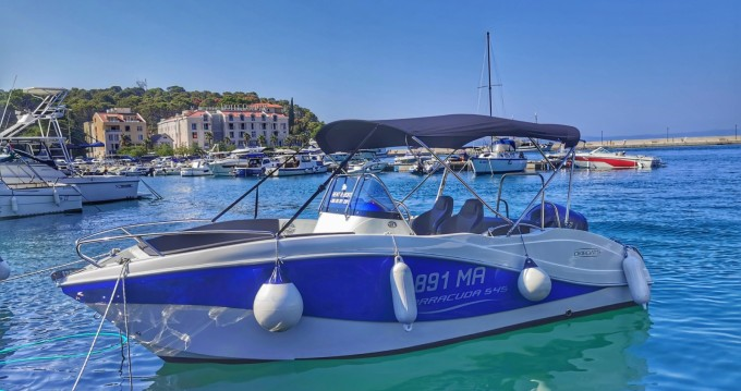 Okiboats Barracuda 545 Open between personal and professional Makarska