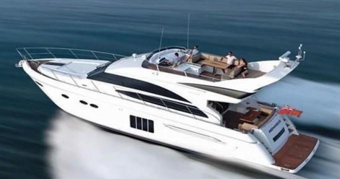 Boat rental Golfe-Juan cheap Princess 64 Fly
