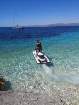 Boat rental Yamaha Ex sport  in Vela Luka on Samboat