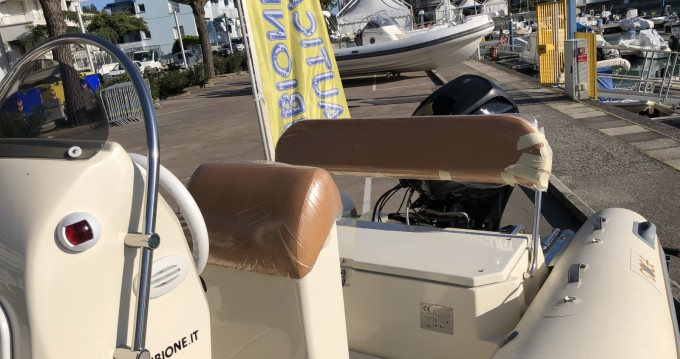 Hire RIB with or without skipper Doge Lignano Sabbiadoro