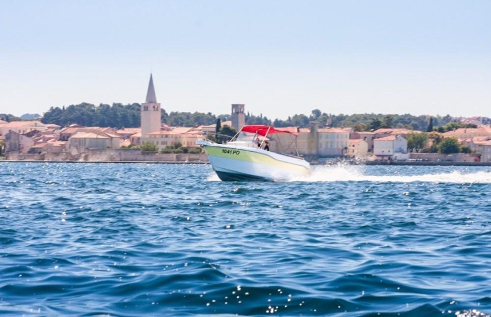 Rental Motorboat in Vrsar - Orka 740 open