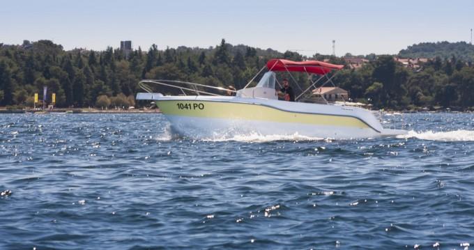 Boat rental Vrsar cheap 740 open