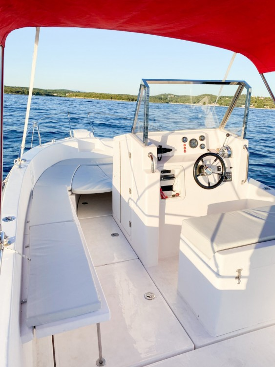 Hire Motorboat with or without skipper Orka Vrsar