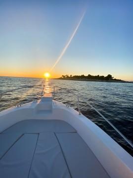 Motorboat for rent Vrsar at the best price