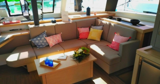 Fountaine Pajot Astrea 42 between personal and professional Marsala