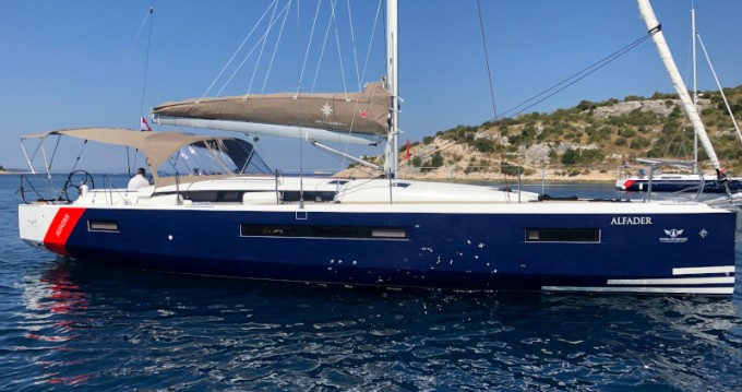 Jeanneau Sun Odyssey 490 between personal and professional Primošten