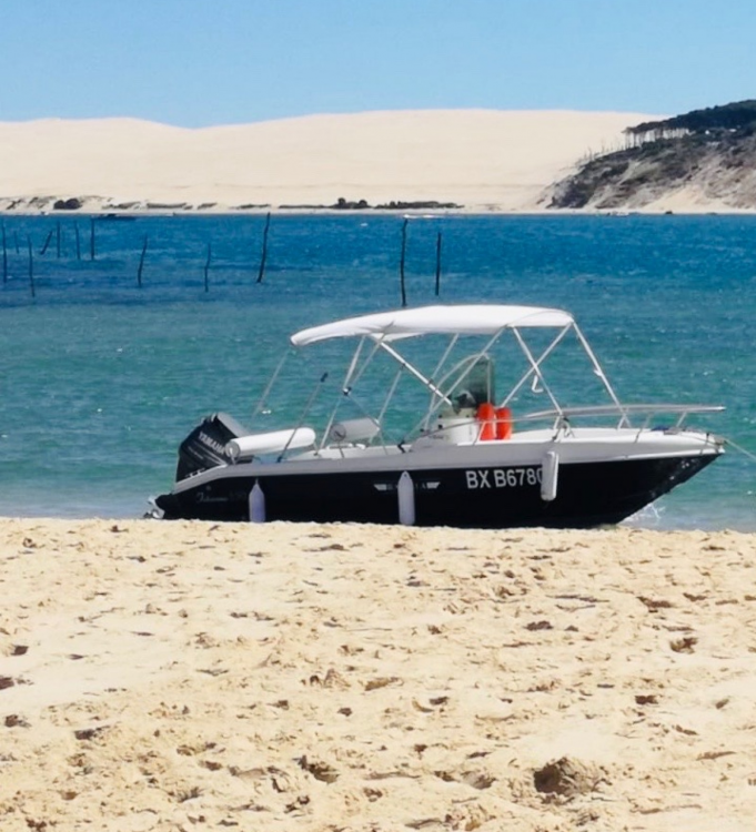 Hire Motorboat with or without skipper Rascala Arcachon