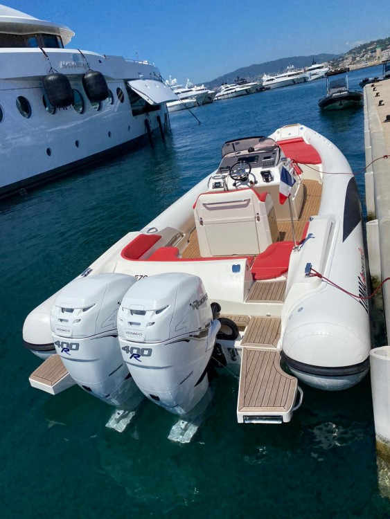 Hire RIB with or without skipper Lomac Cannes