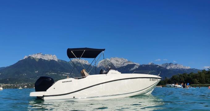 Rental yacht Saint-Jorioz - Quicksilver Activ 555 Open on SamBoat