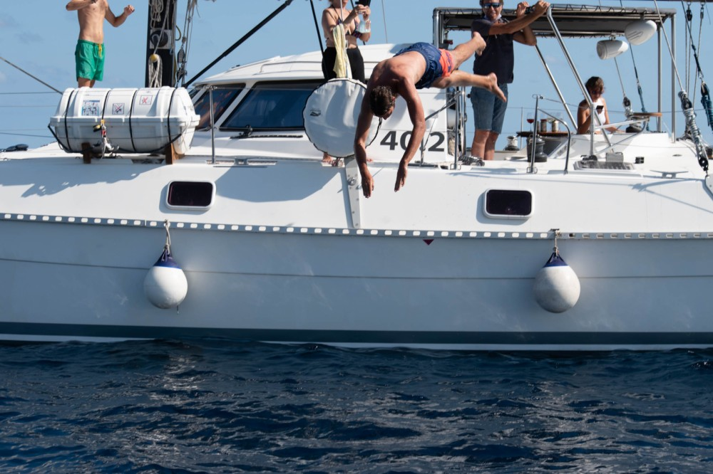 Boat rental Barcelona cheap outremer 42