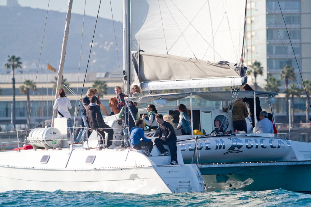 Outremer outremer 42 between personal and professional Barcelona