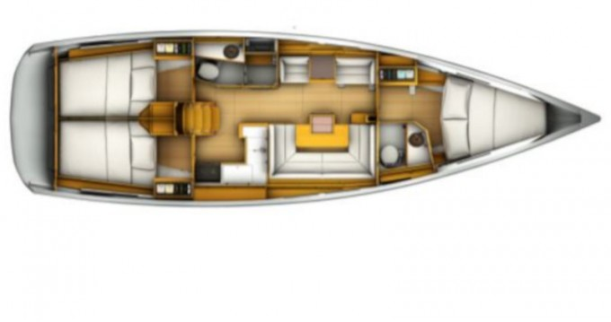 Boat rental Palma de Mallorca cheap Sun Odyssey 419